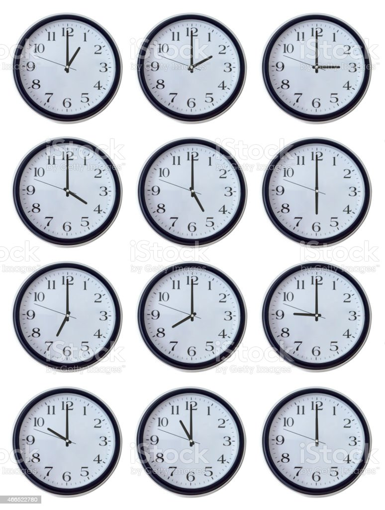 Hours stock photo