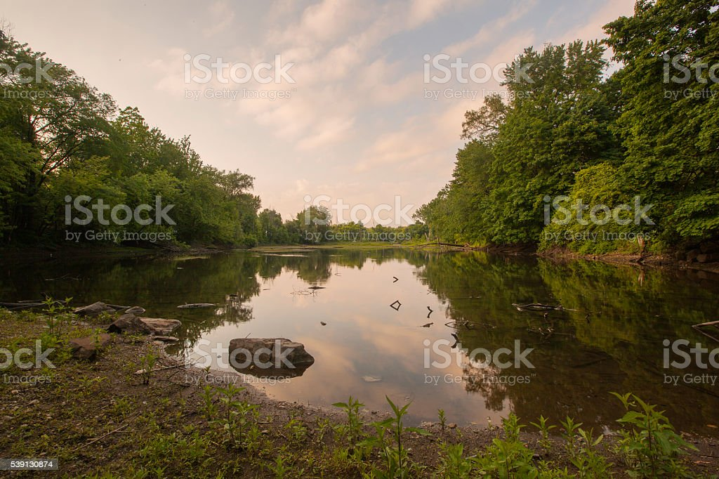 Housatonic River stock photo