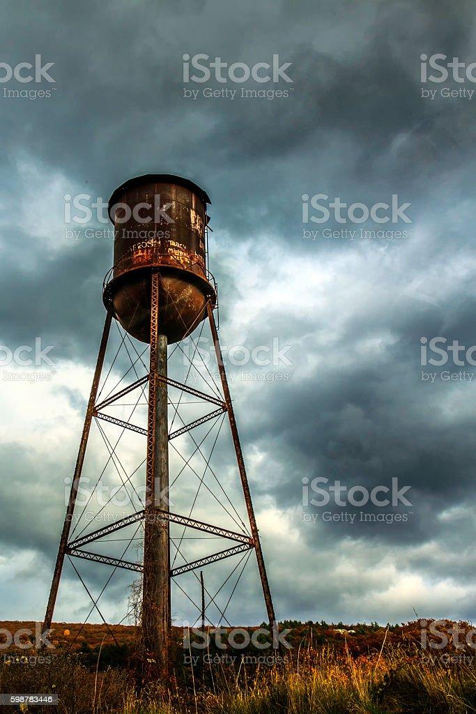 Housatonic Water Tower stock photo