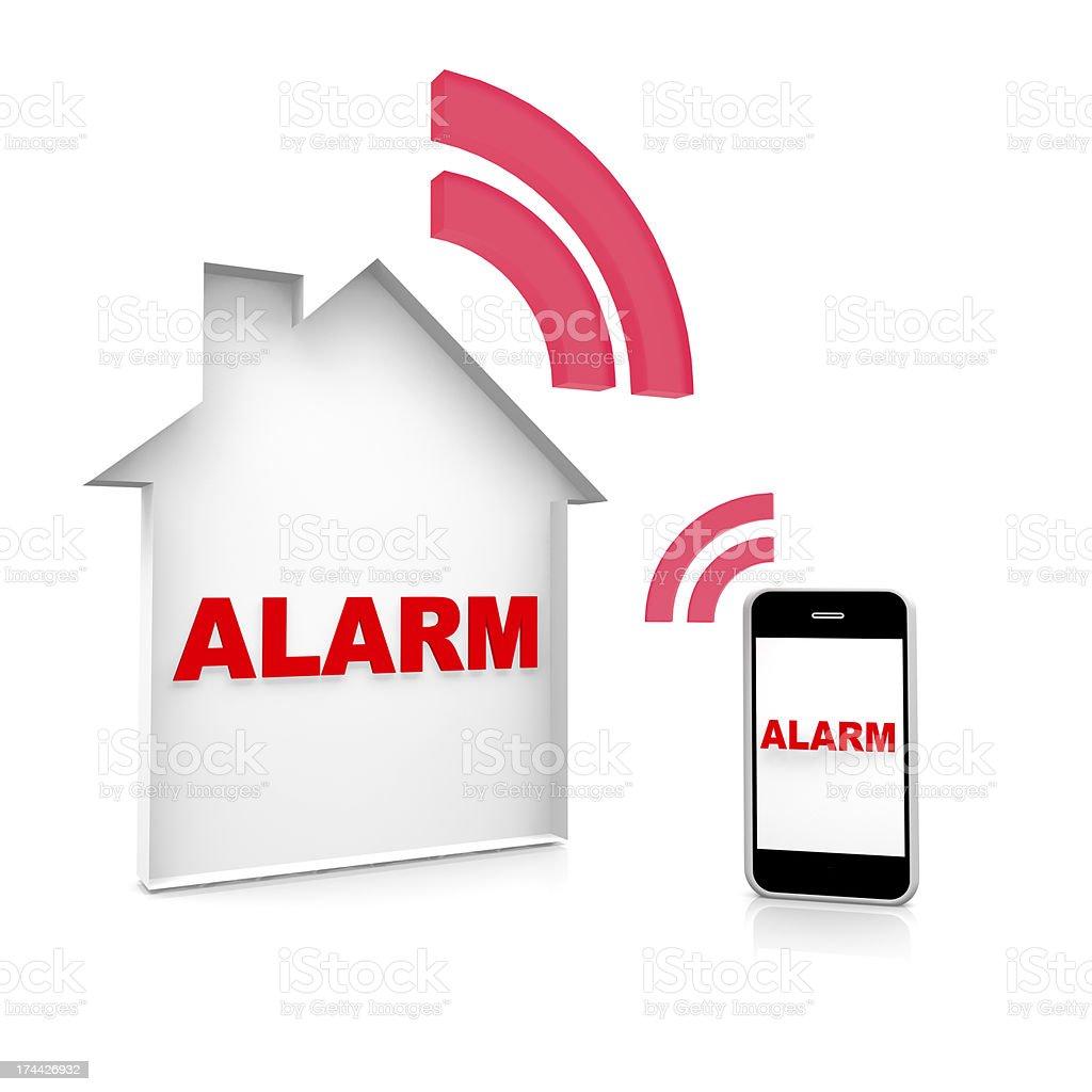 House Alarm stock photo