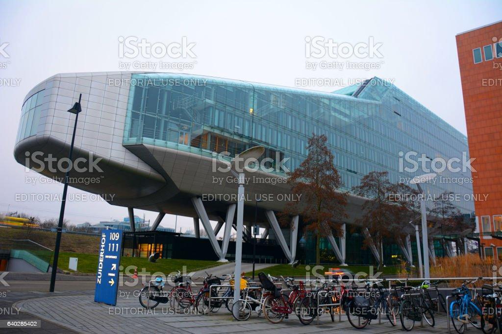 ING House Amsterdam stock photo