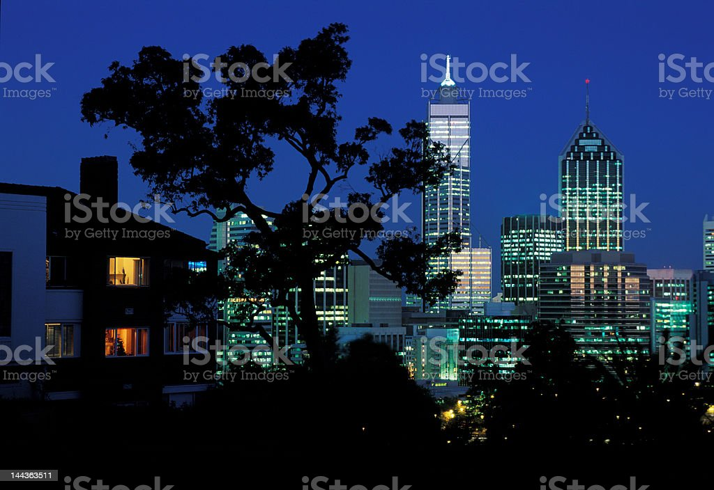 house and office royalty-free stock photo