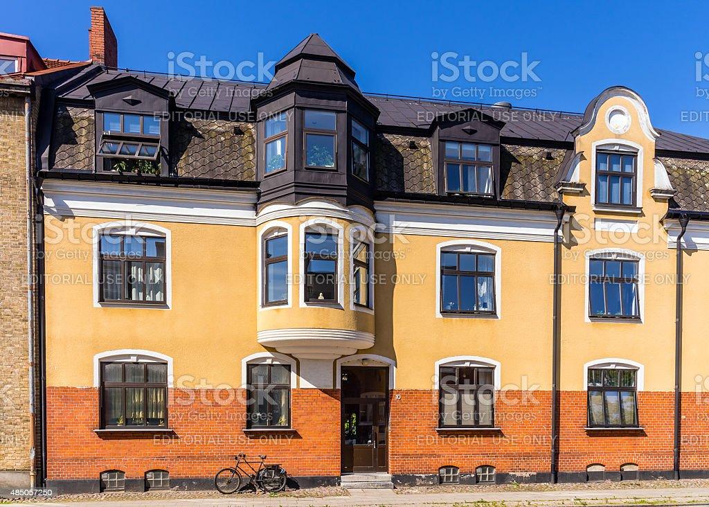 House at Mariagatan 10 stock photo