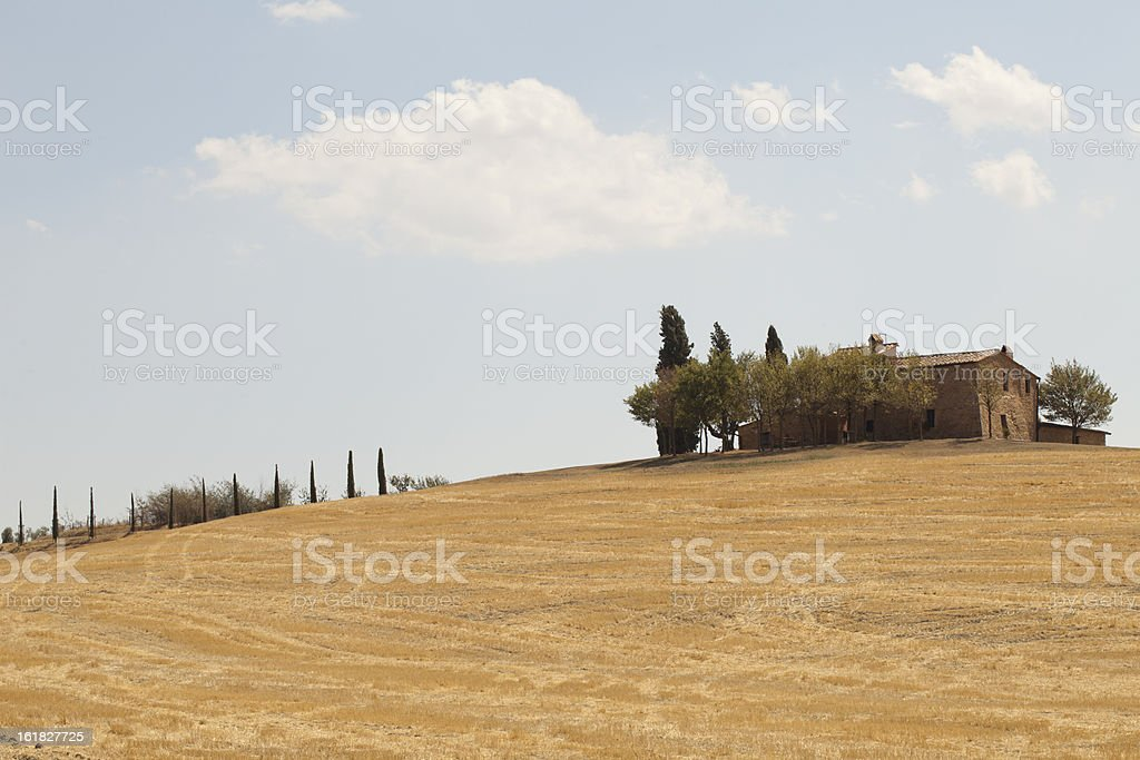 House at the Hill royalty-free stock photo