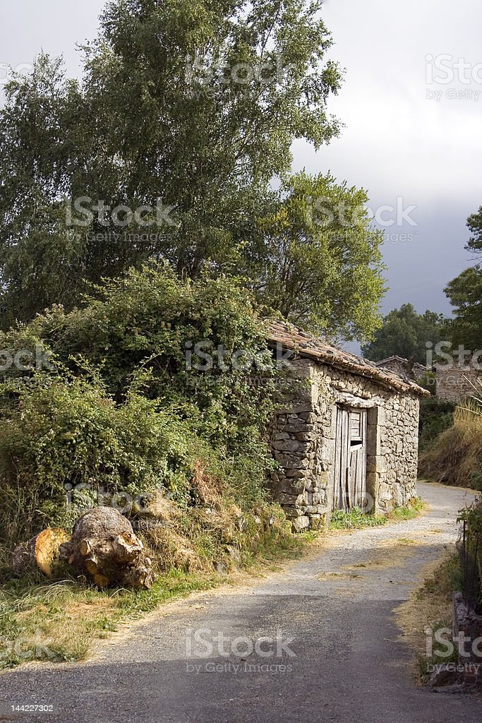 House at Verea royalty-free stock photo