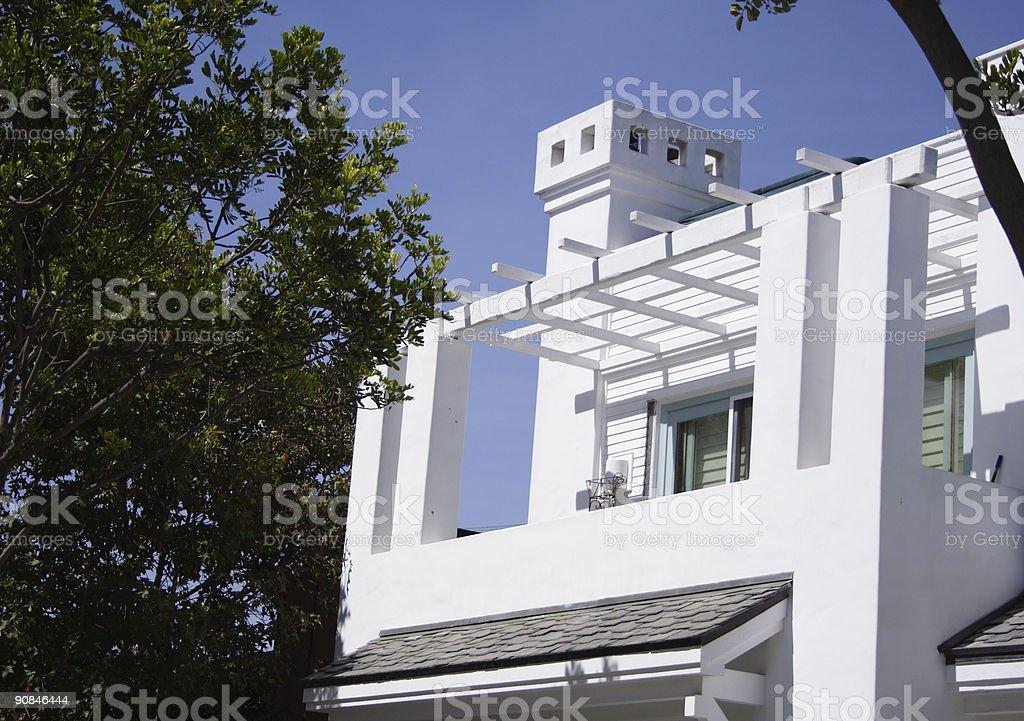 House Balcony stock photo