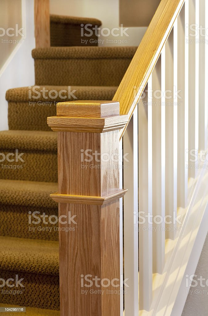 House Bannister stock photo