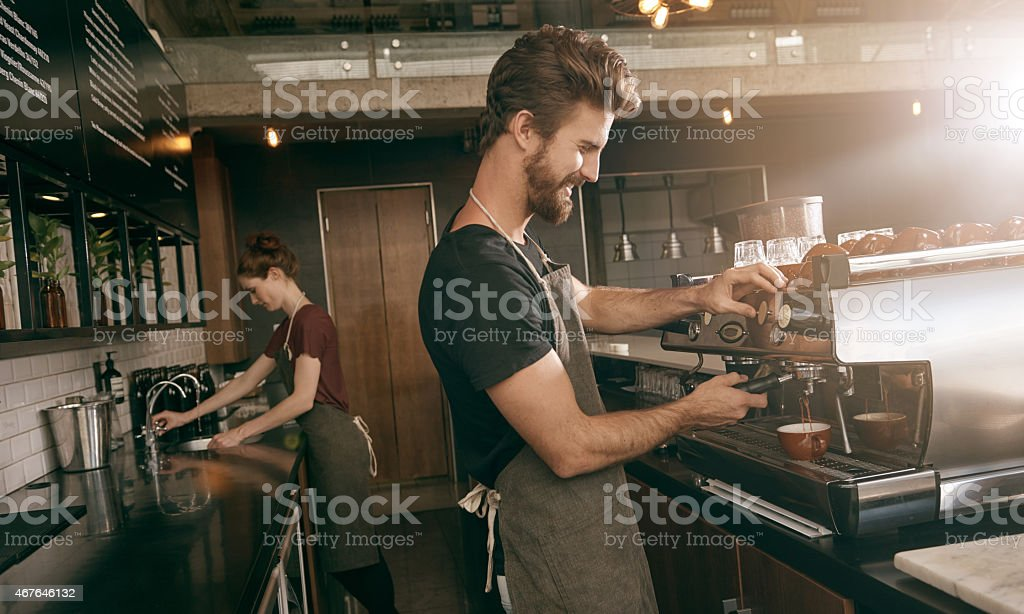 House blend stock photo