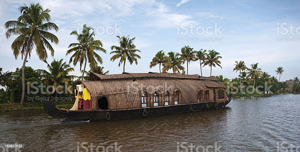 House boat royalty-free stock photo