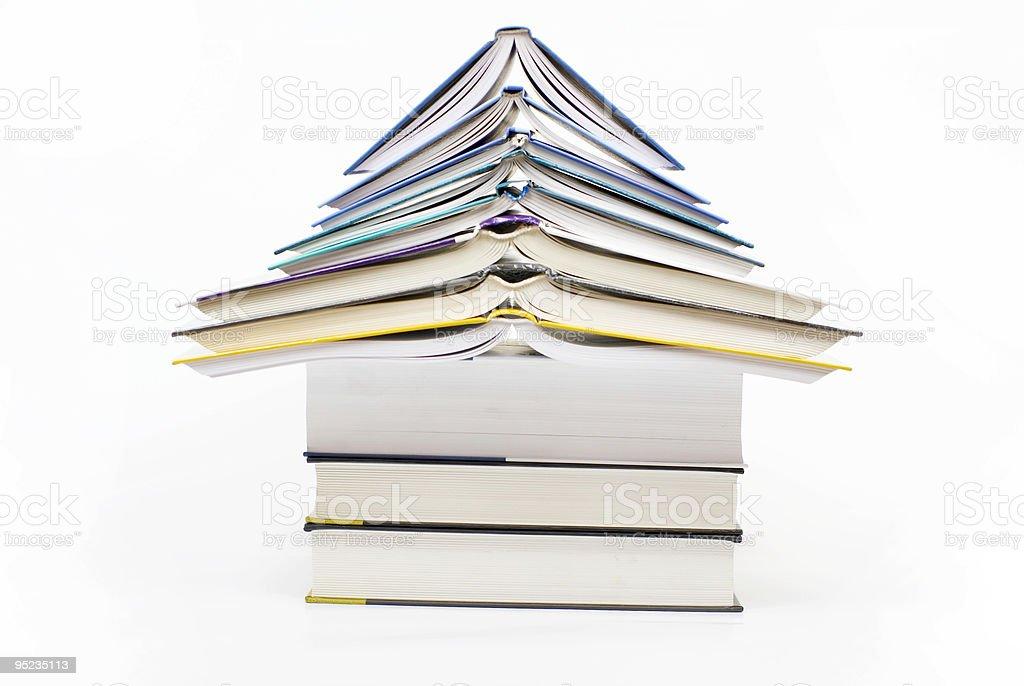 house - book  'PAGODA' royalty-free stock photo