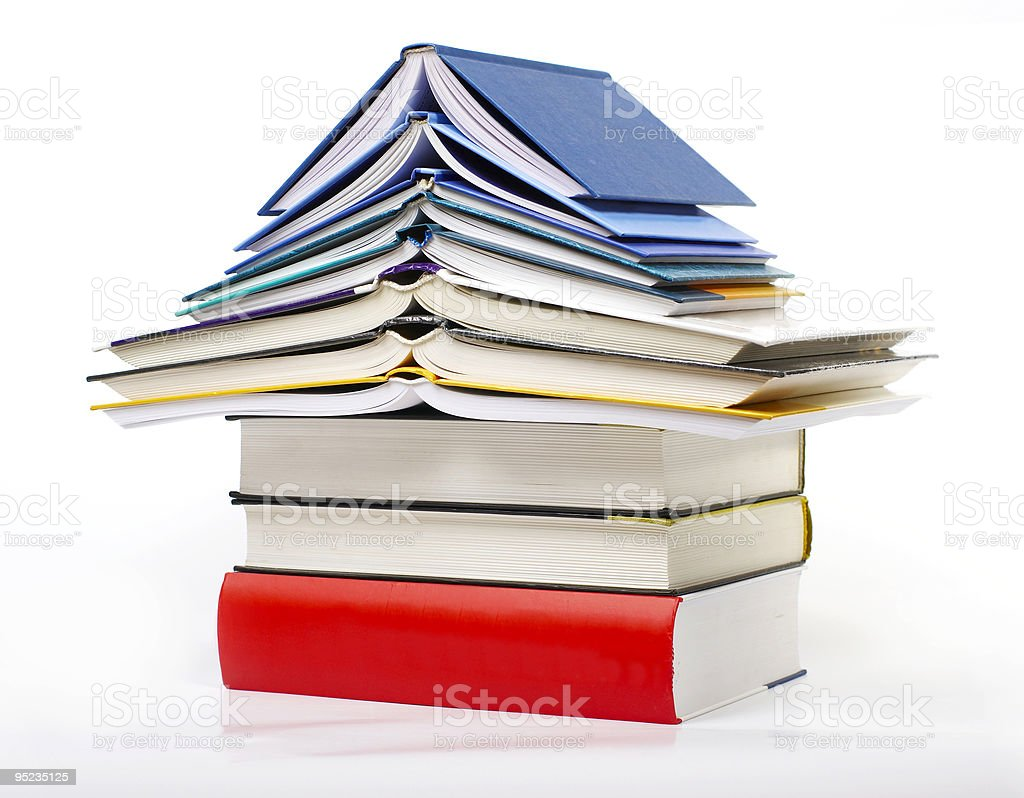 House - book 'PAGODA' royalty-free stock photo