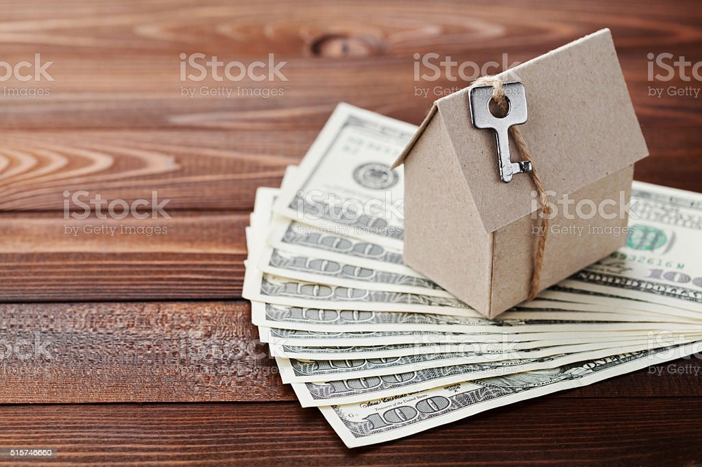 House building, insurance, housewarming, loan, real estate, home concept stock photo