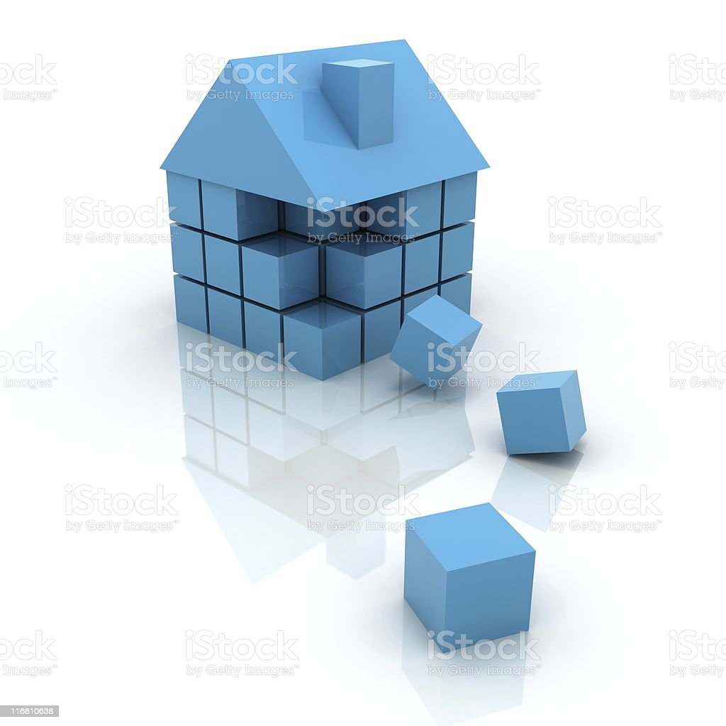 House Building royalty-free stock photo