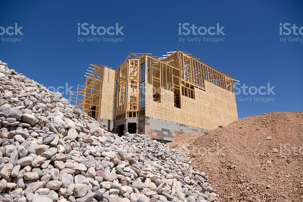 house building stock photo