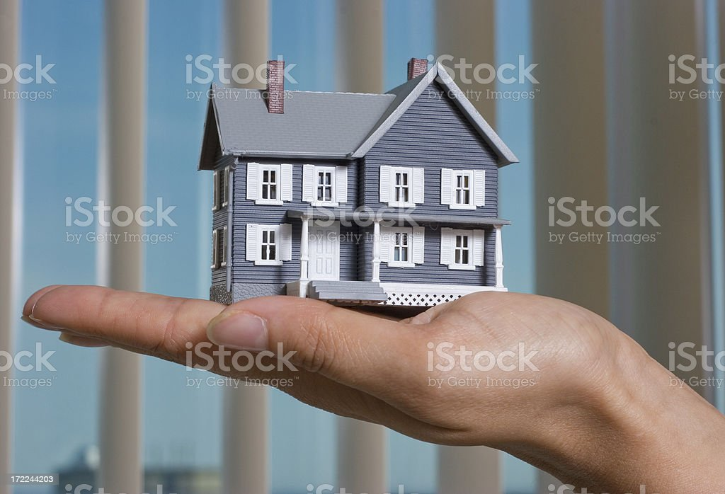House buying royalty-free stock photo