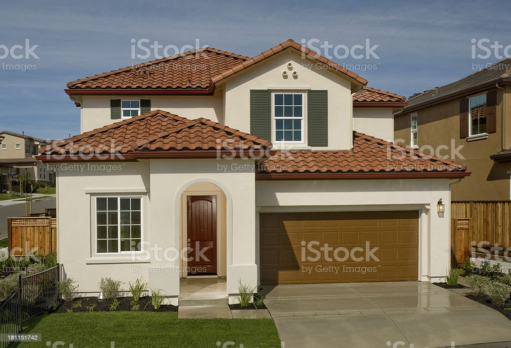 House, California stock photo