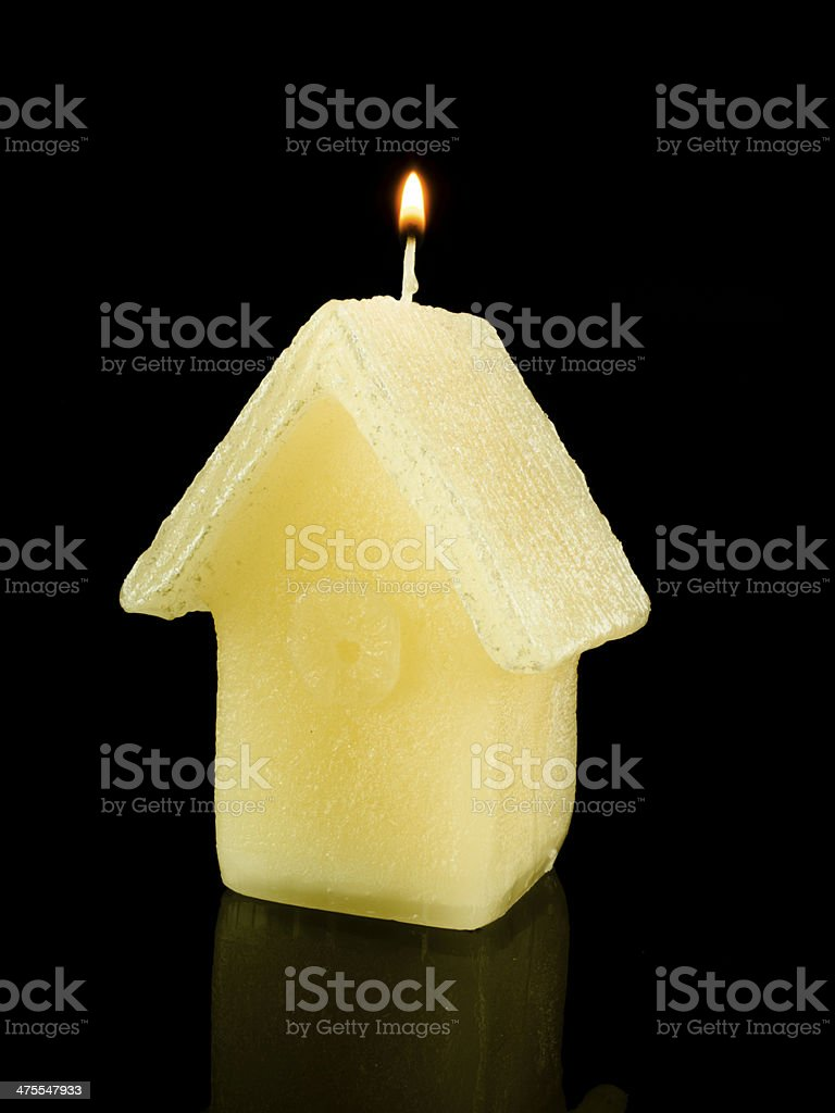 House candle royalty-free stock photo
