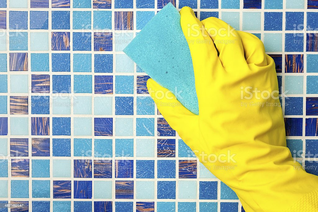 House chores stock photo