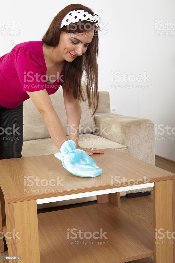 House cleaning royalty-free stock photo
