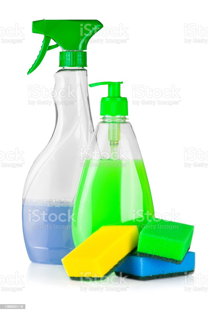 House cleaning product royalty-free stock photo