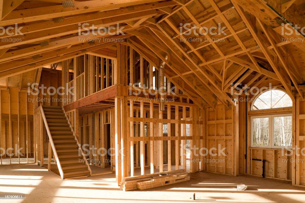 house construction stock photo