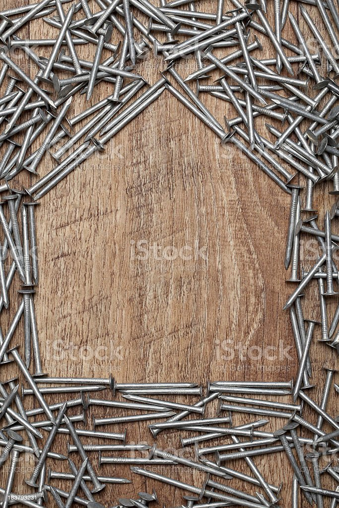 House construction royalty-free stock photo