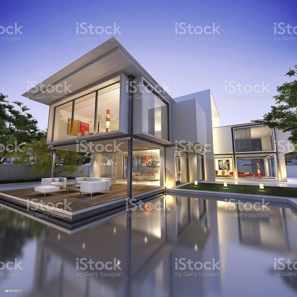 House cube NID1 stock photo