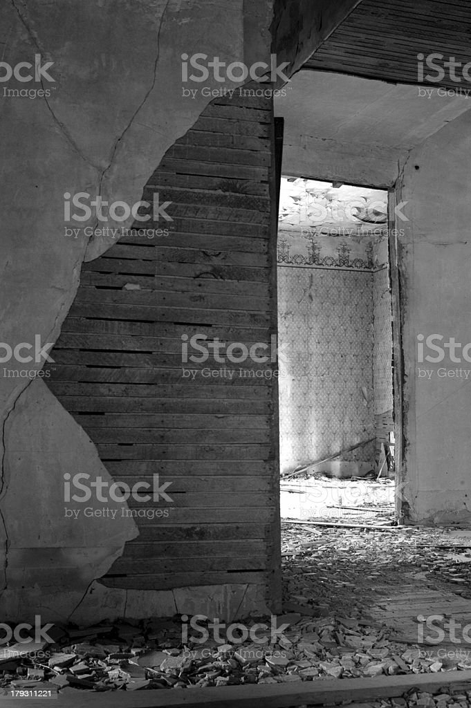 House Decay royalty-free stock photo