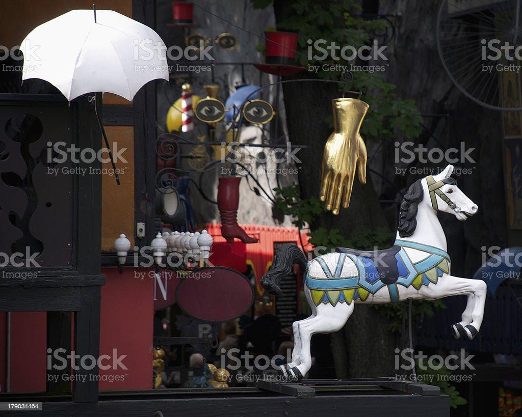 House decoration stock photo