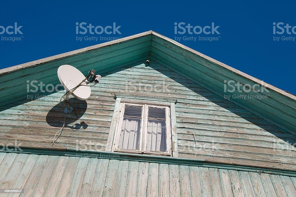House detail stock photo