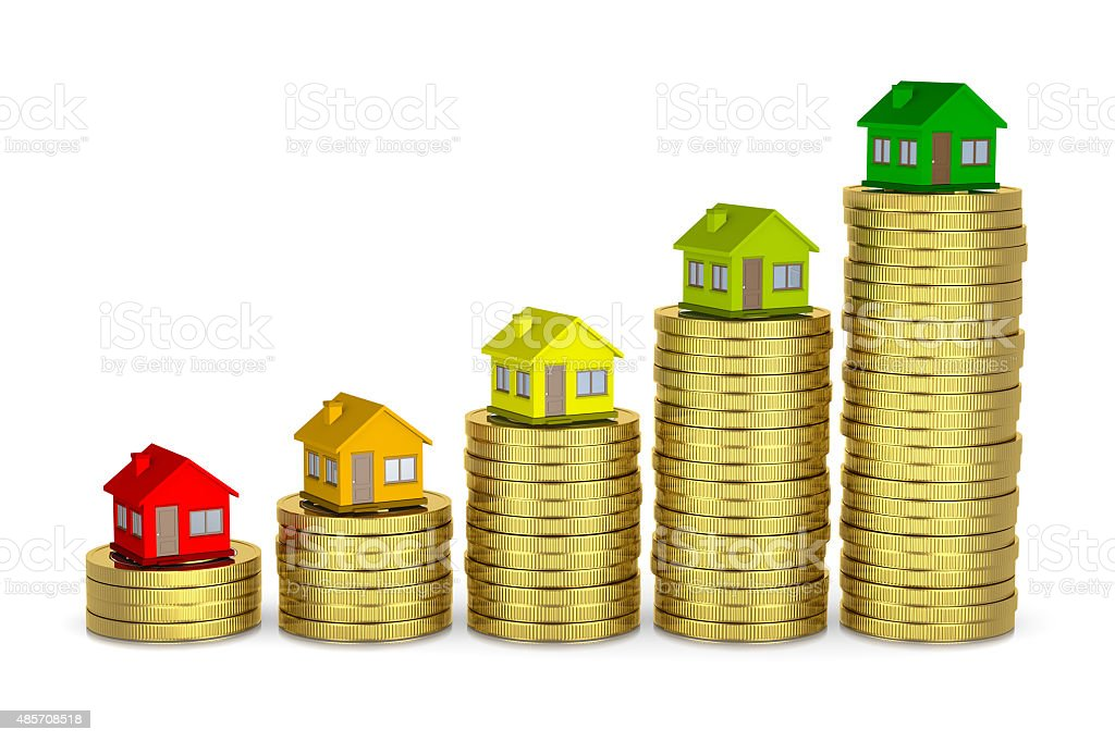 House Energetic Class, Save Money stock photo