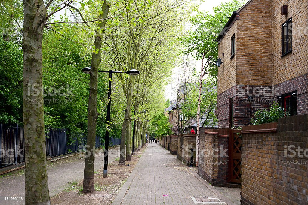 House estate in London royalty-free stock photo