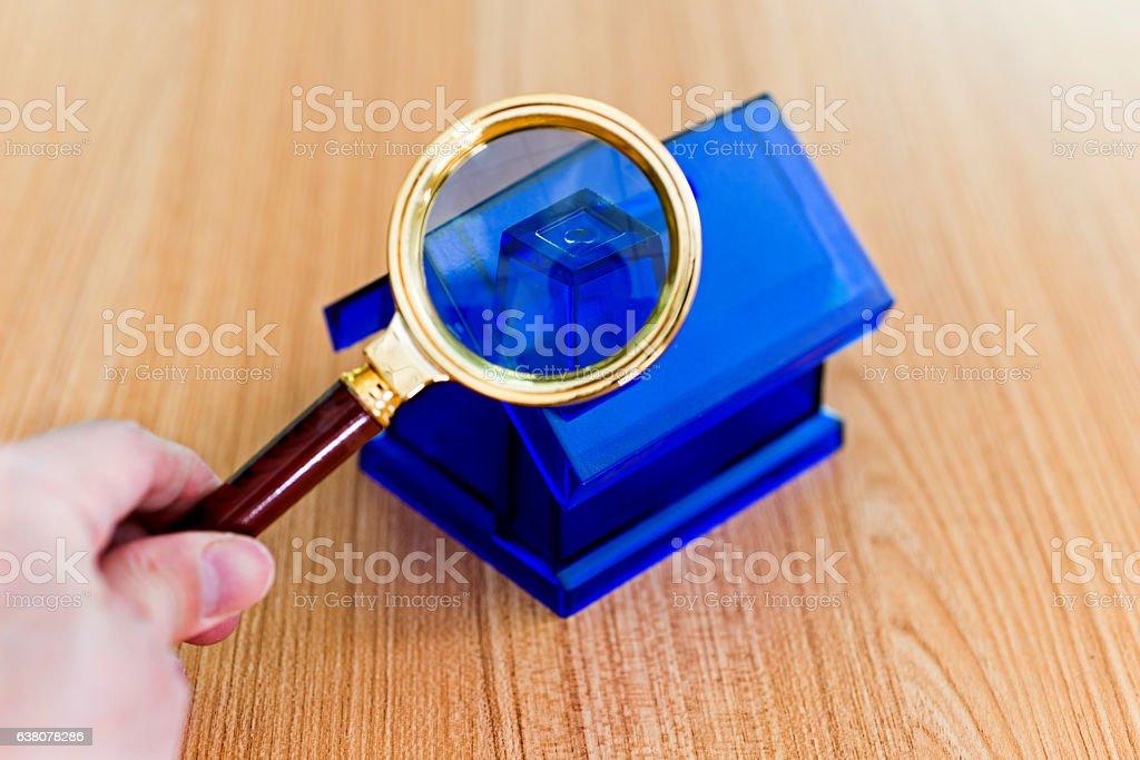 House examined stock photo