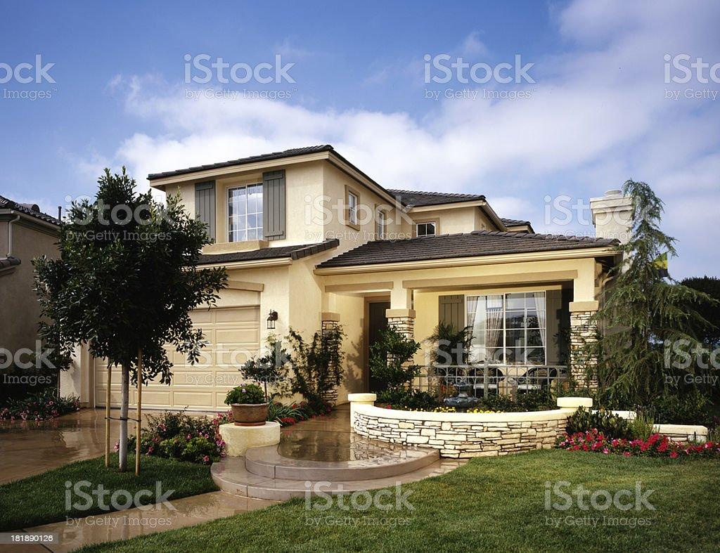 House Exterior Home Design stock photo