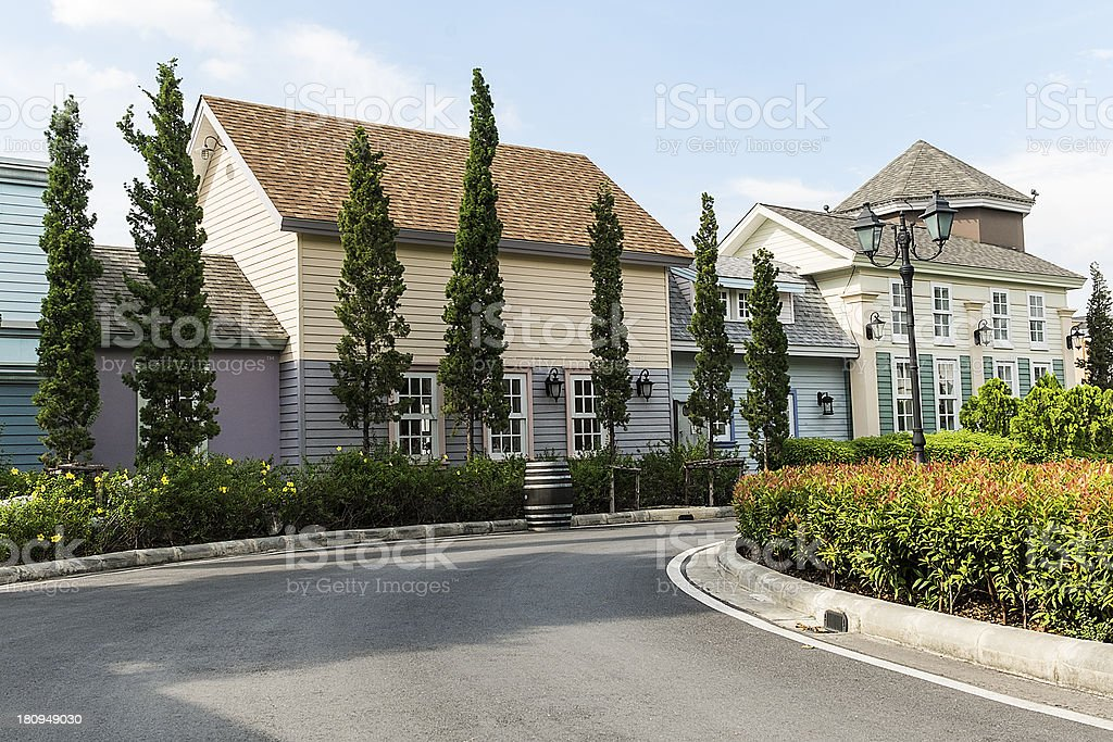 House exterior royalty-free stock photo