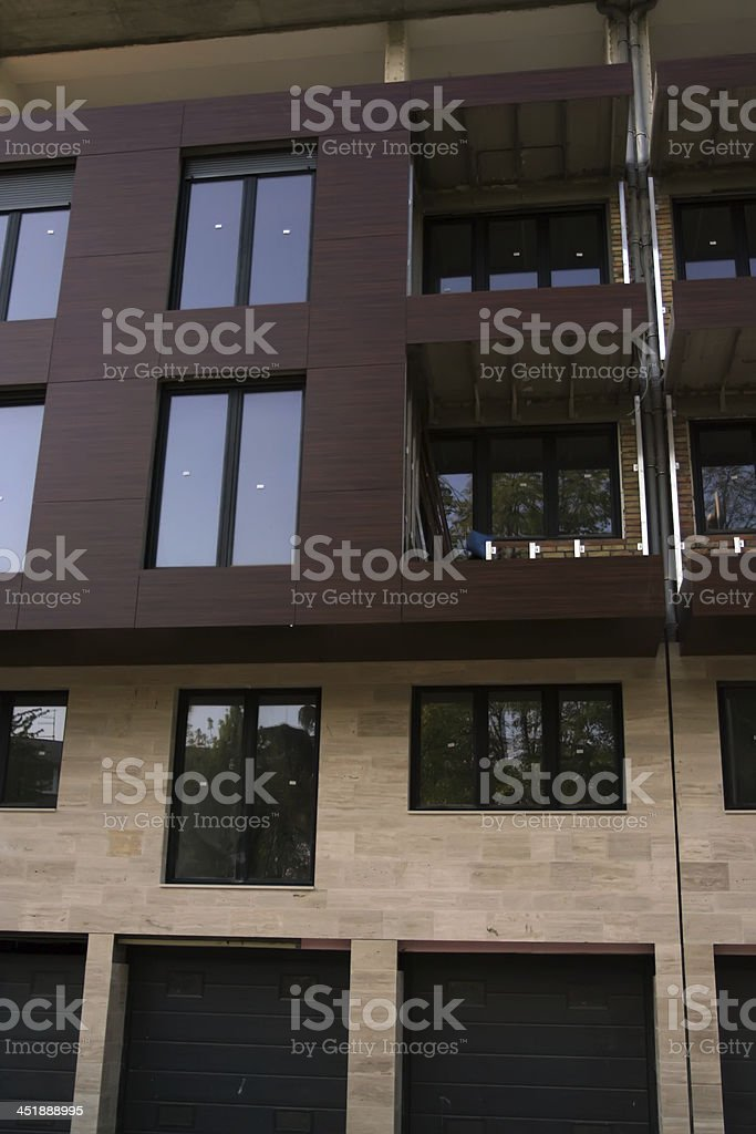 House exterior stock photo