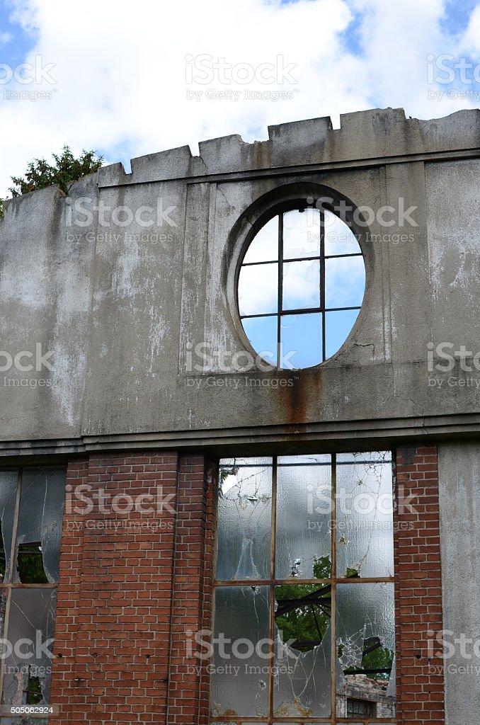 Hausfassade stock photo