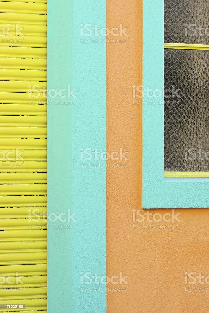 House Facade Art Deco Architecture royalty-free stock photo