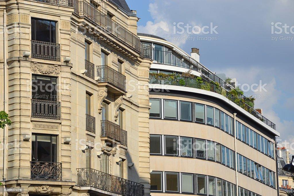 house facade stock photo