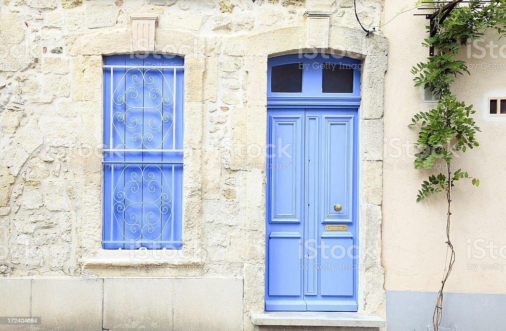 House facade. Provence, France. royalty-free stock photo