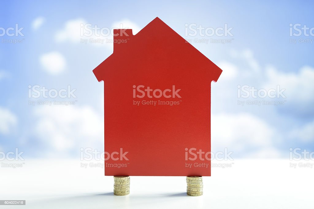 House finance stock photo