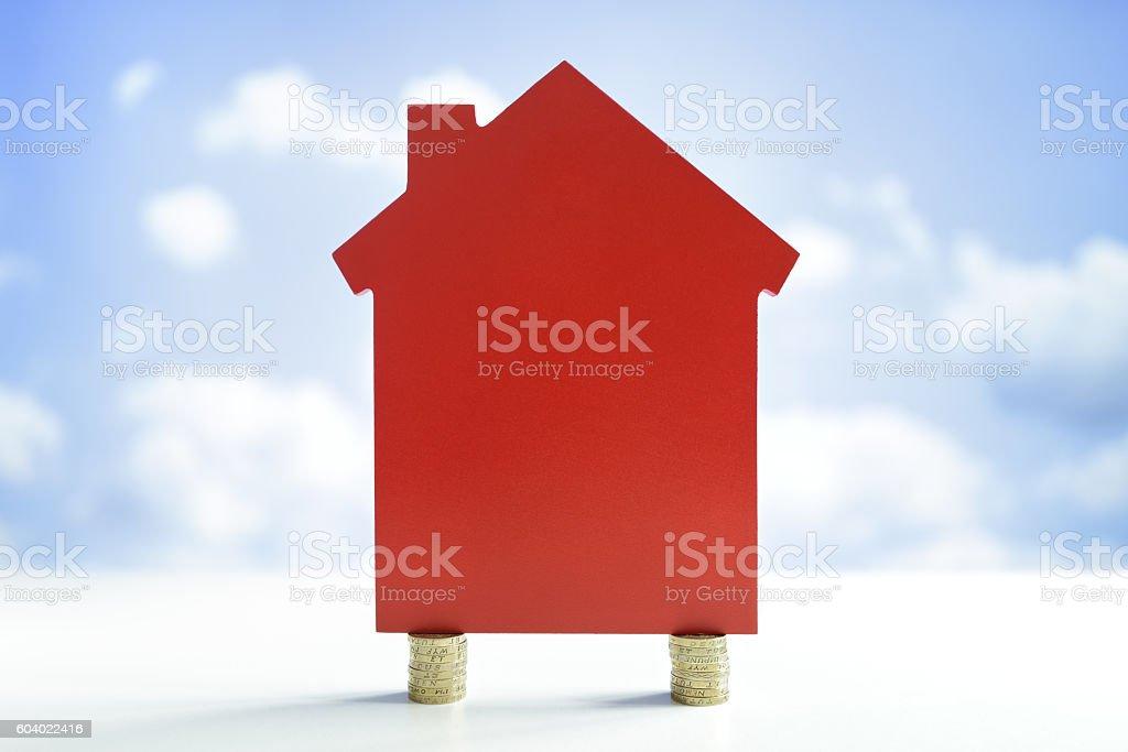 House finance stock photo