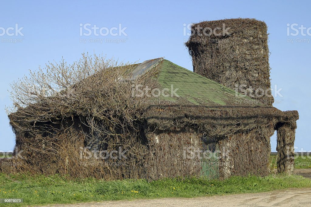 House for Sale - Needs Some Work stock photo