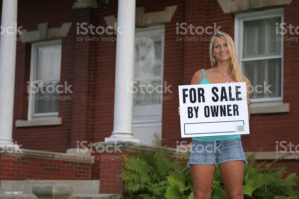 House For Sale! royalty-free stock photo