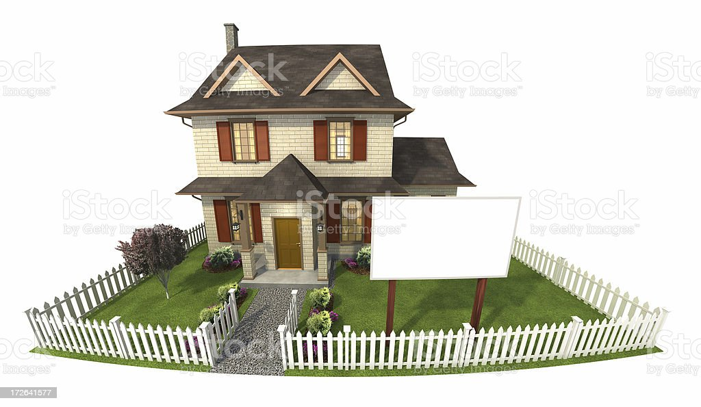 house for sale royalty-free stock photo