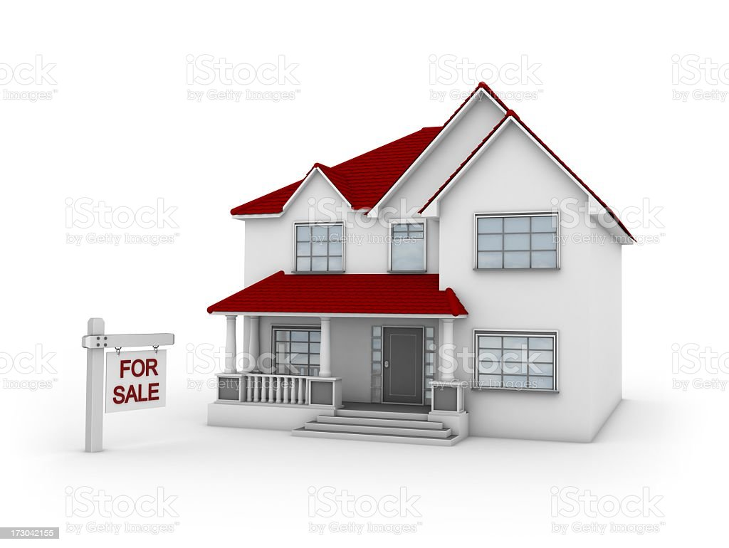 House for Sale stock photo