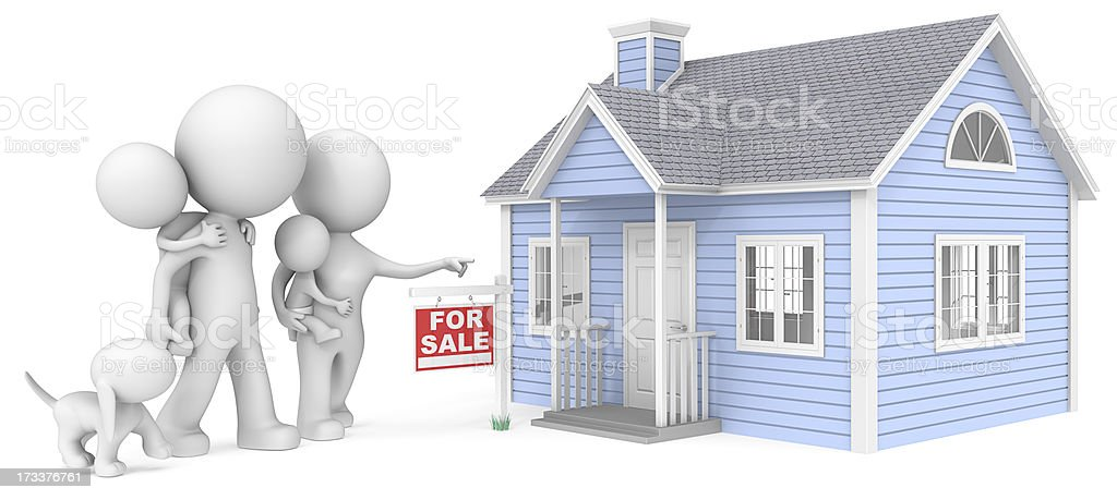 House for sale. royalty-free stock photo