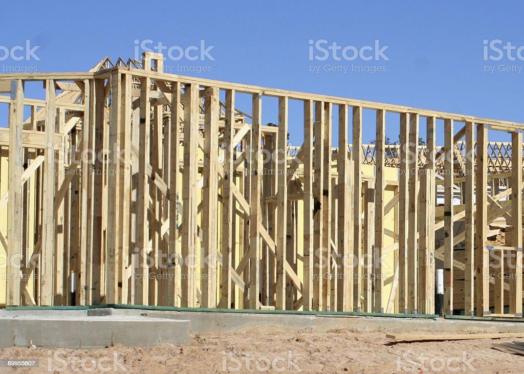 House Frame royalty-free stock photo