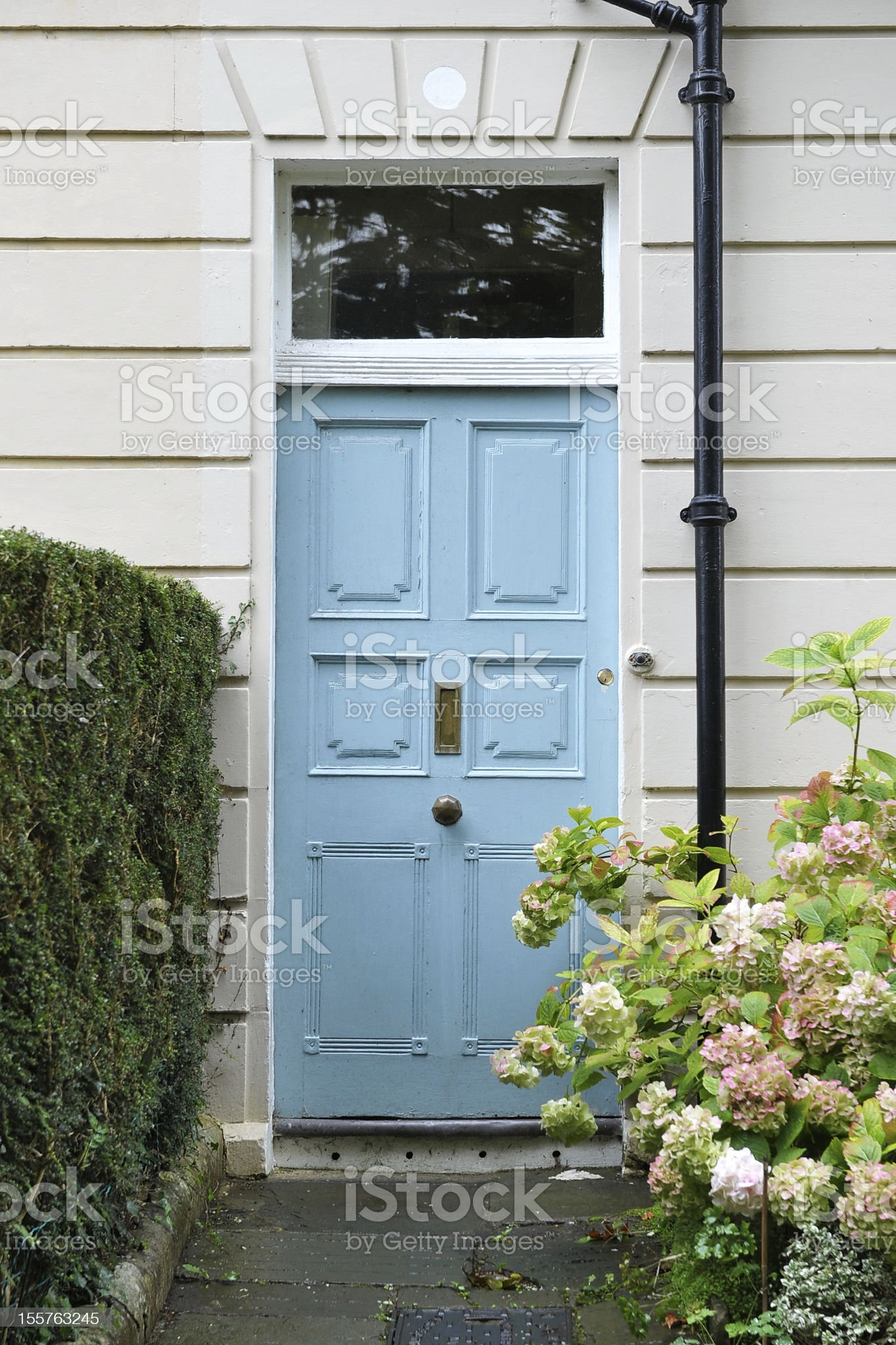 House Front Door royalty-free stock photo