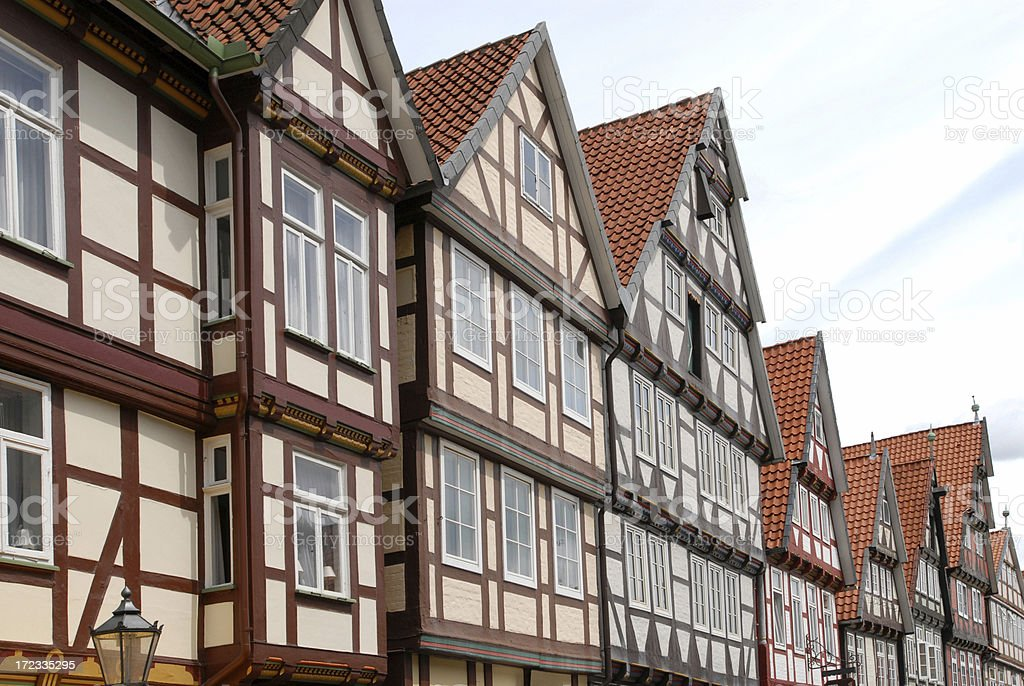House Gables, Celle royalty-free stock photo